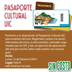 Pasaporte cultural UIC