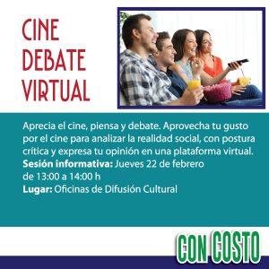 Cine debate virtual