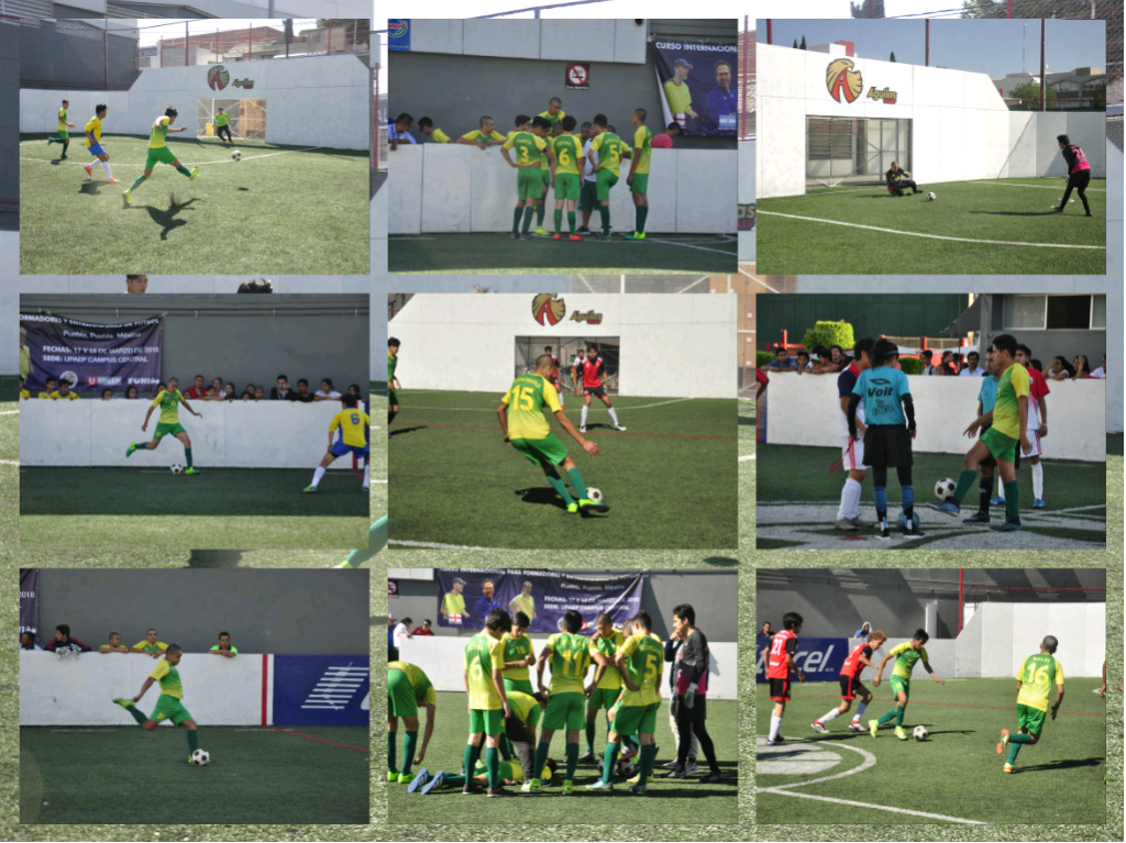 Nuestro equipo de futbol varonil demostró su arrojo durante los partidos