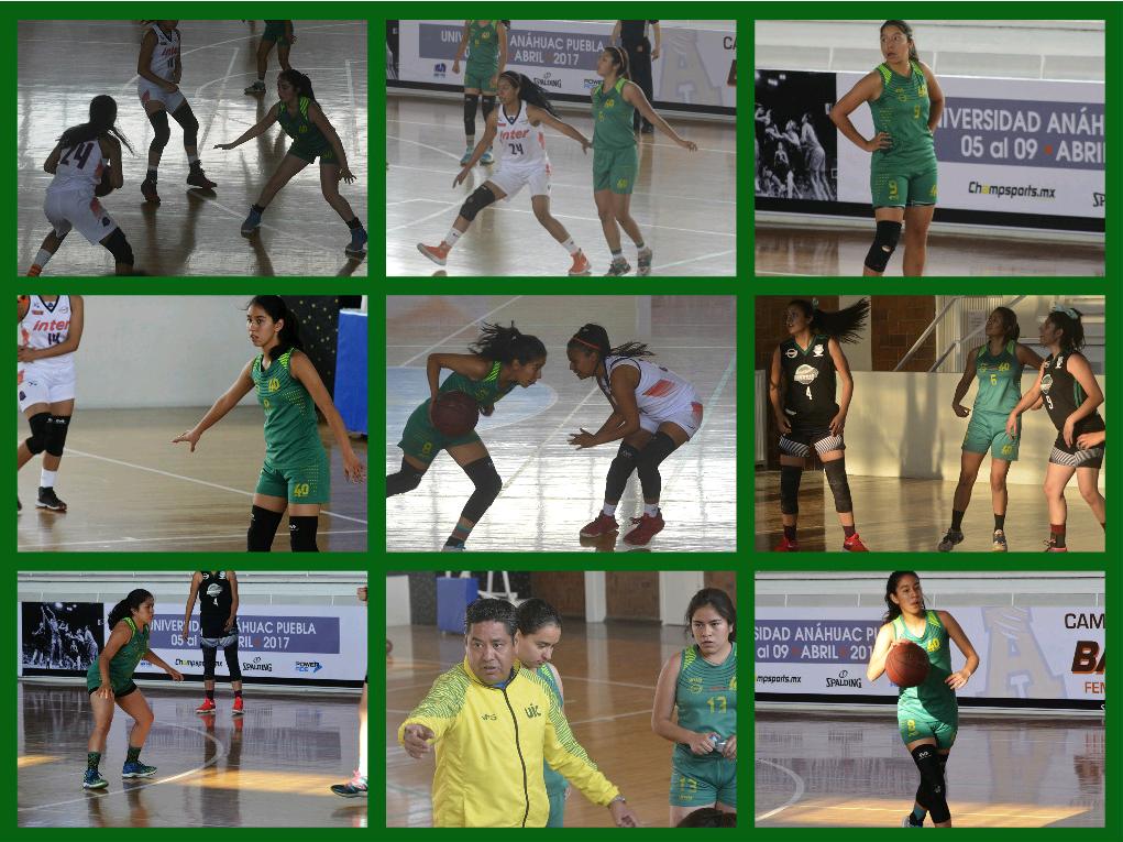 Las chicas de básqutbol también tuvieron una destacada participación en el Torneo Nacional de Conadeip
