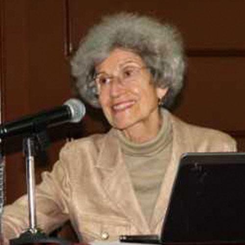 Dra. Ana Teresa López de Llergo.