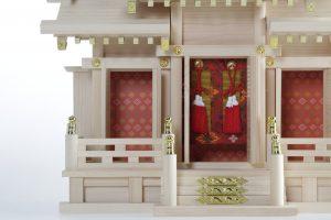 Kamidana, detalle del altar miniatura, 4 MB, museo