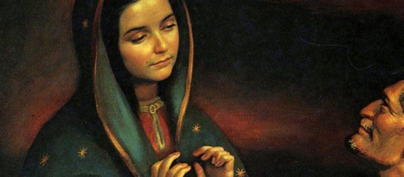 Virgen de Guadalupe, signo de evangelización en América Latina, la Virgen y Juan Diego, 95 KB, virgen