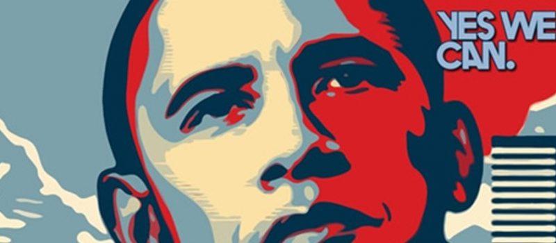 Marketing y marketing político, publicidad de Obama, 70KB, marketing y política