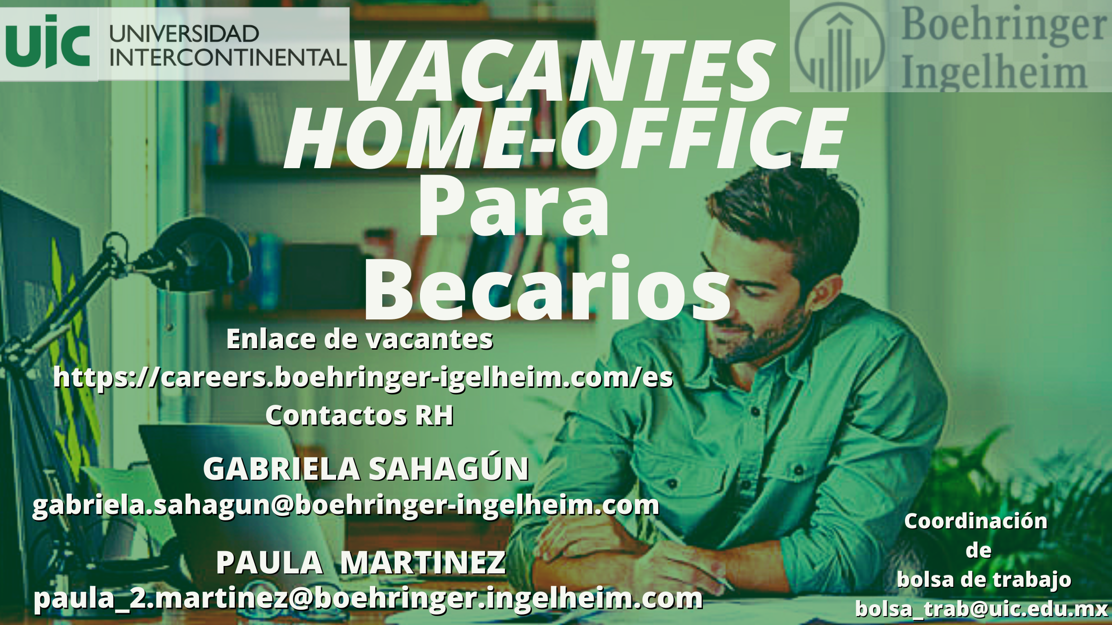 Vacante home office