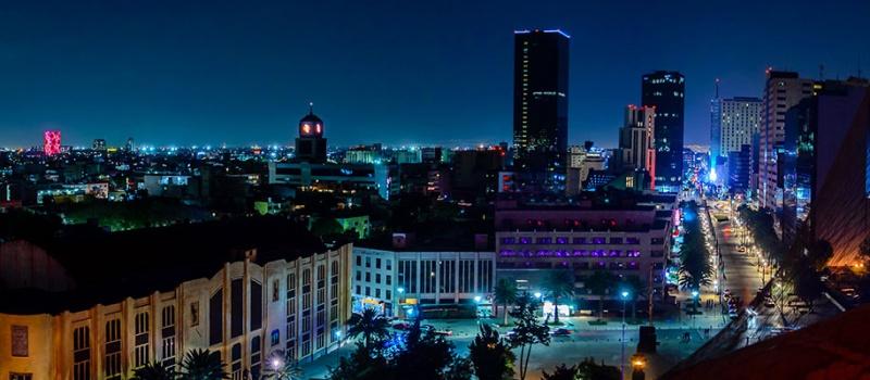 Identidad arquitectónica en México del siglo XXI ante la globalización, skyline, 145KB, globalización